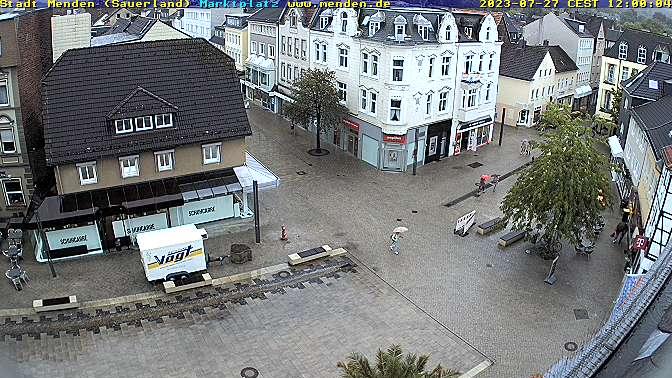 Webcam Marktplatz Menden